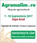 Agromalim (7-10 septembrie 2017), Expo Arad